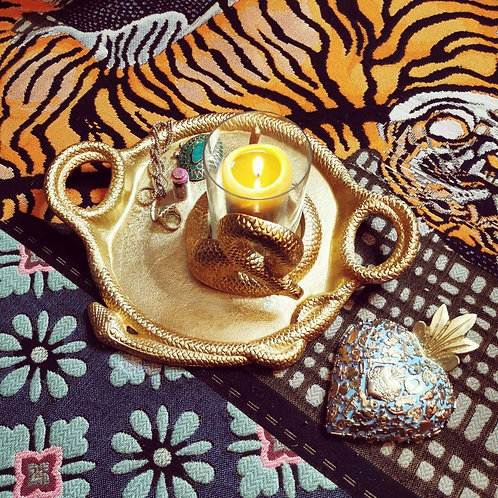 Gold Luxe Serpent Tray