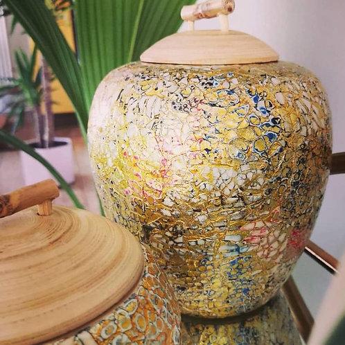 Large Bamboo Pot