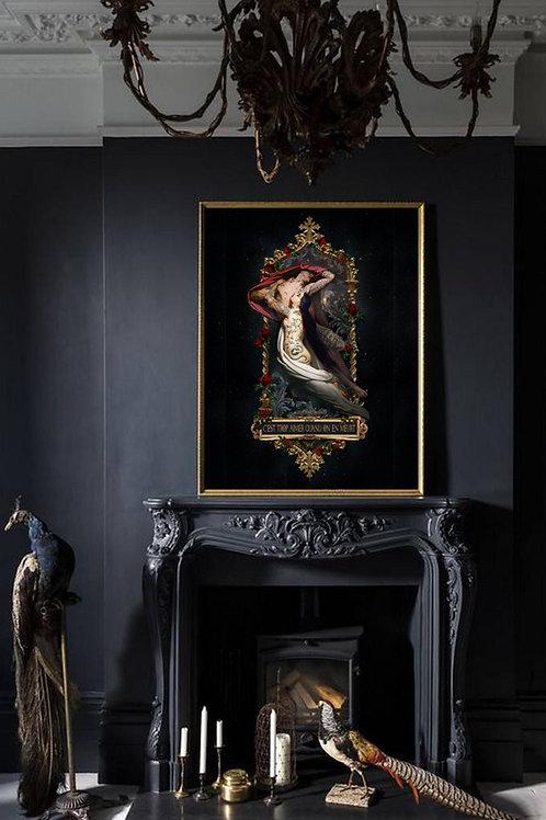 """Francesca and Paulo"" Art Print"