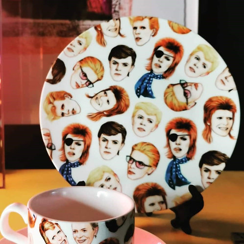 "Fabulous Bowie - 8"" Plate"