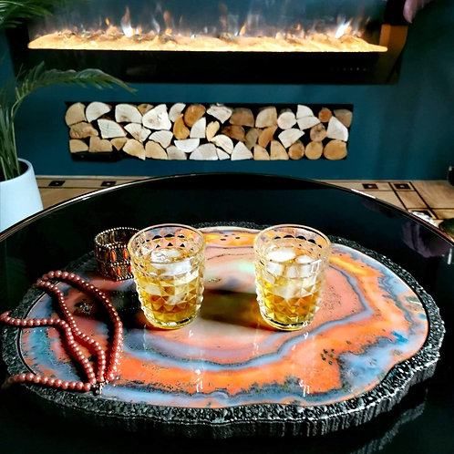 Large Agate Tray