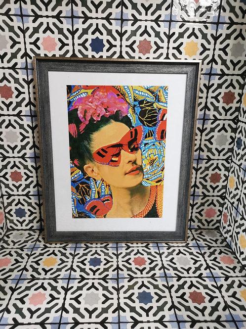 Frida - Butterfly Art