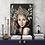 "Thumbnail: ""Sapphire Goddess"" Art Print by Marta Hutt"