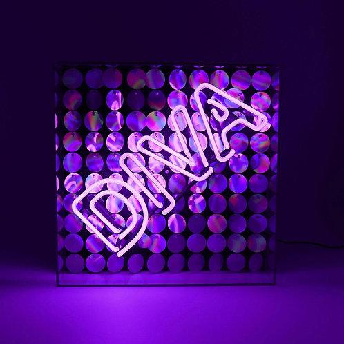 """Diva"" Acrylic Box Neon Light"