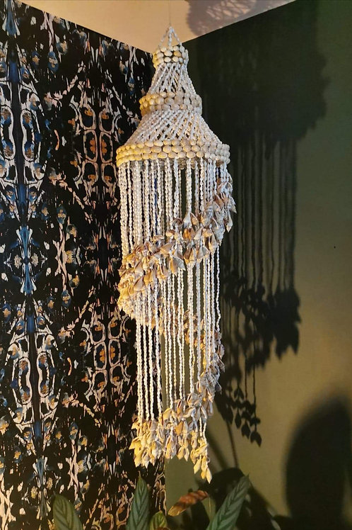 Extra Large Hanging Sea Shell Chandelier