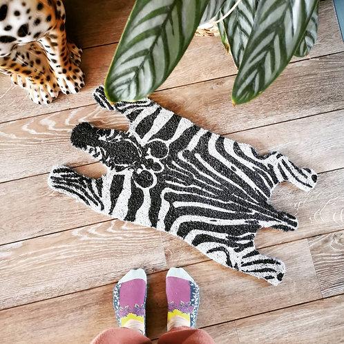 Zebra Door Mat