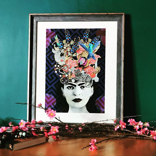 Frida - Jewel Headdress Art