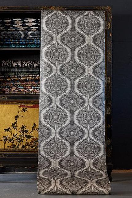 Bibana Pewter Wallpaper
