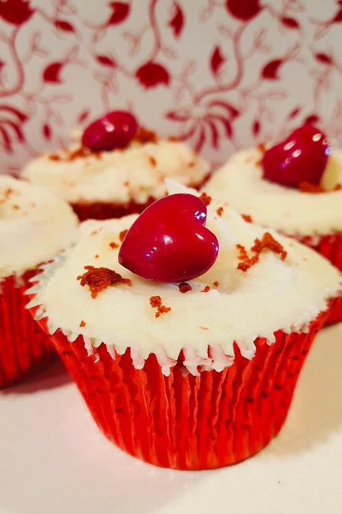 Valentijn cupcake - Red Velvet
