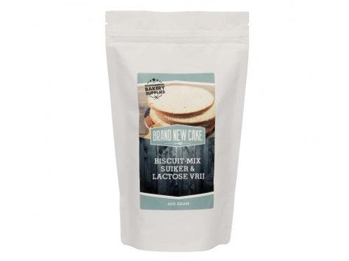 Biscuitmix Lactose- en suikervrij, 400gr