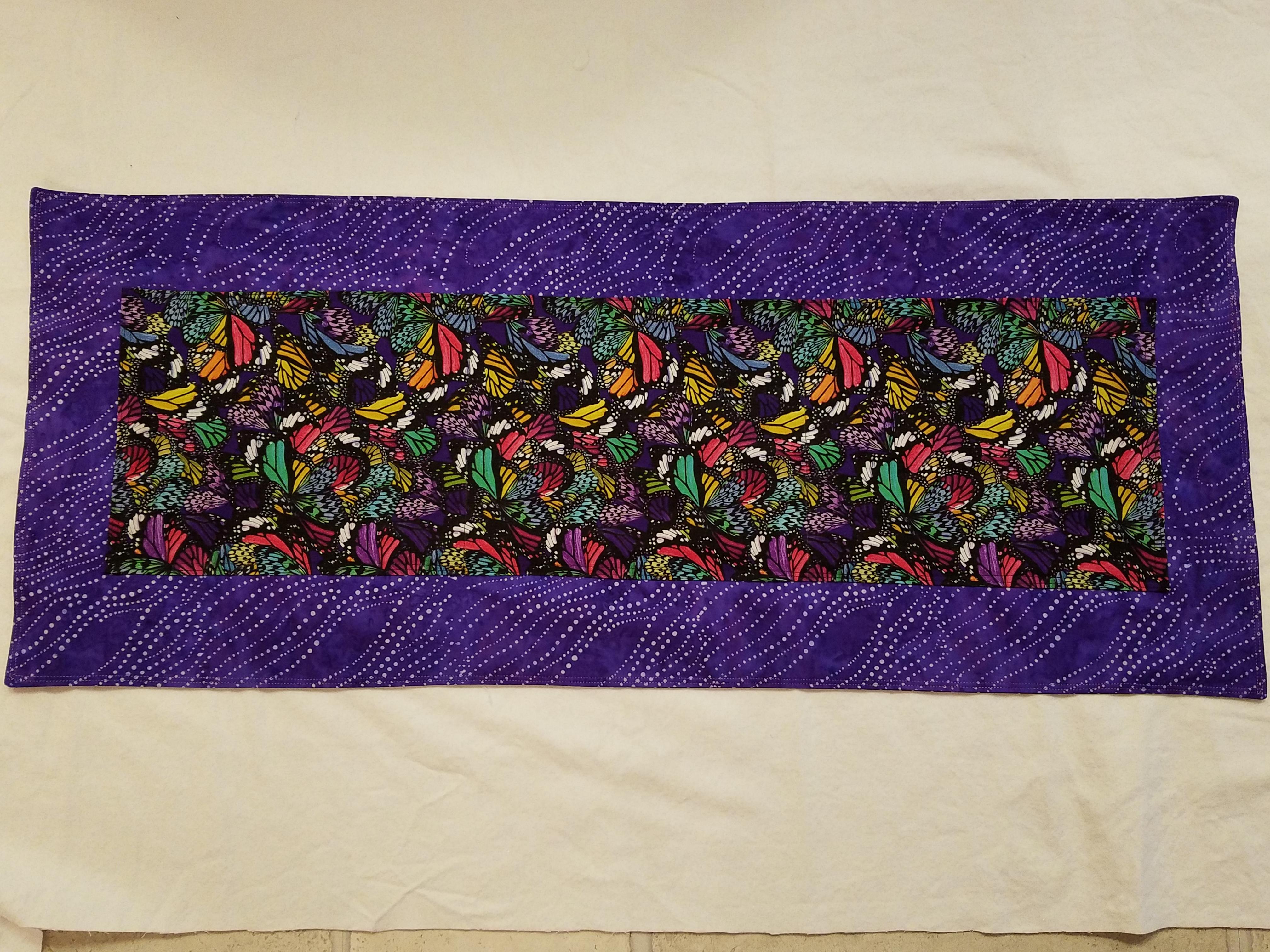 Purple winged Butterflies