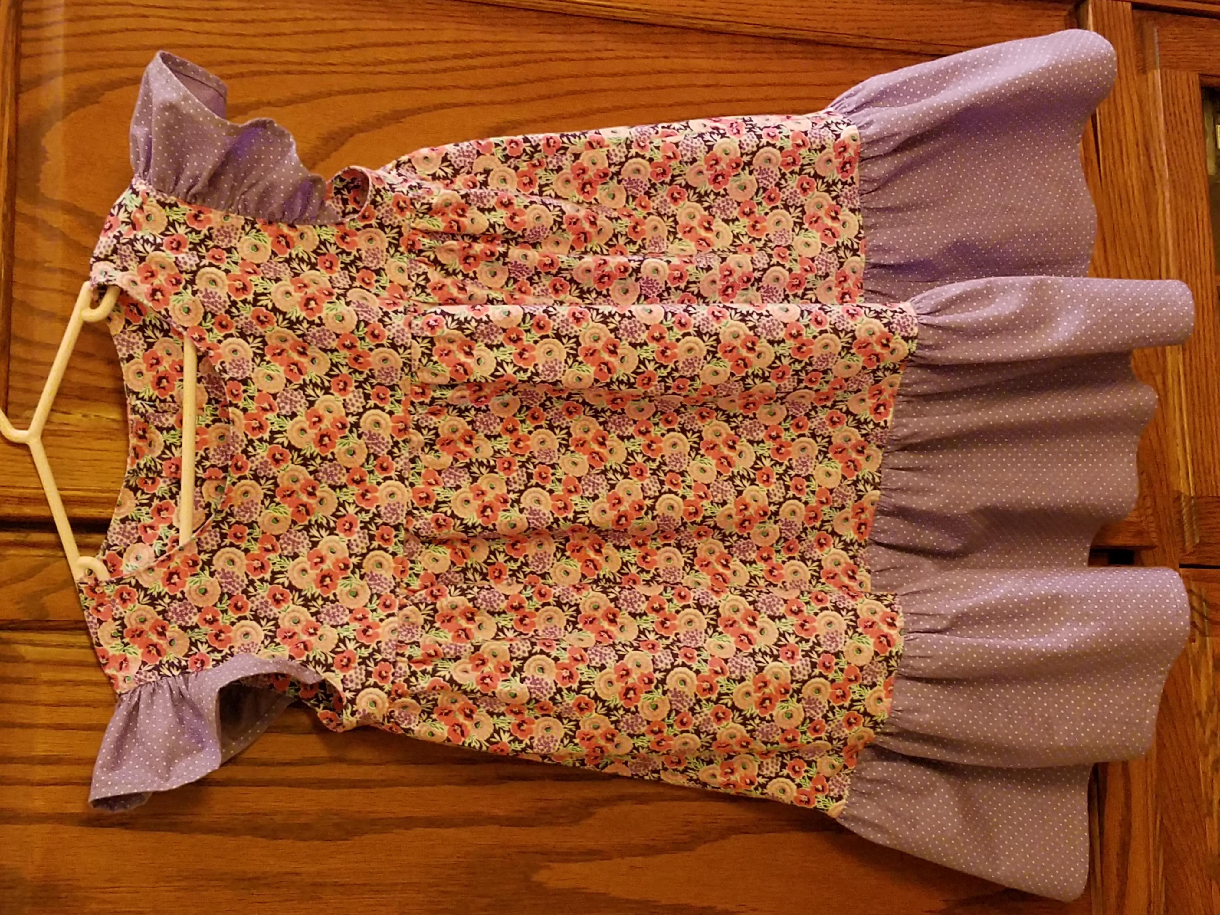 Pretty dress for my granddaughter