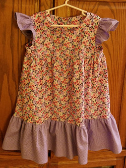 Pretty dress for my granddaughter