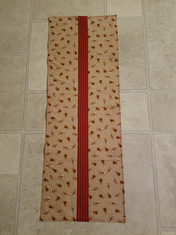 Gingerbread table runner