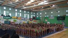 La Gimnasia Rítmica llena el pabellón municipal con el III Torneo Villa de Teror nivel liga escolar