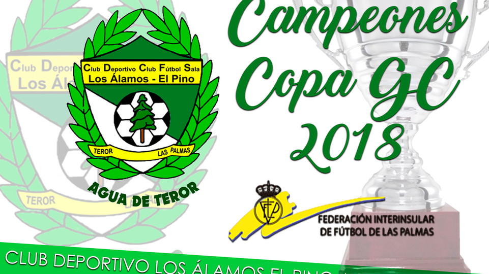 ¡CAMPEONES COPA GC!