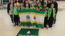 Las gimnastas terorenses rumbo a Guadalajara para disputar el Campeonato de España