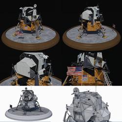 Lunar LM base full