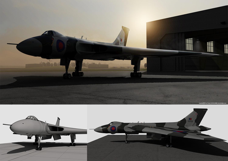 Vulcan-XH558