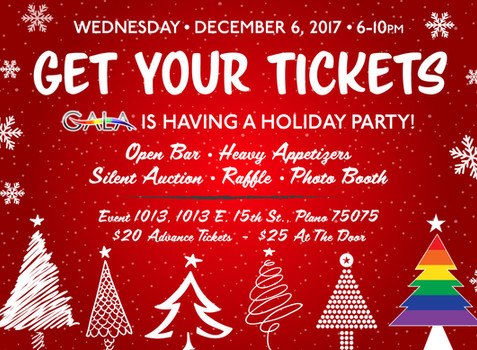 Holiday Party Tickets and Sponsorship Opportunities