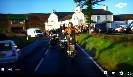 Dougie's Red Bull Wheelie Challenge Success !