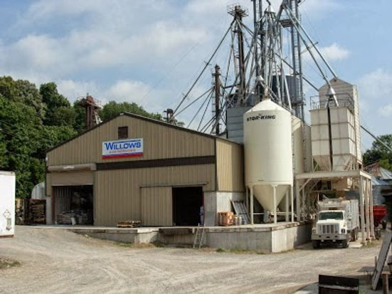 Willows feed mill