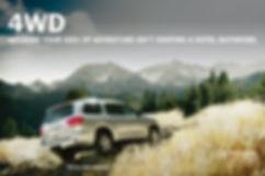 Toyota Sequoia Print Campaign