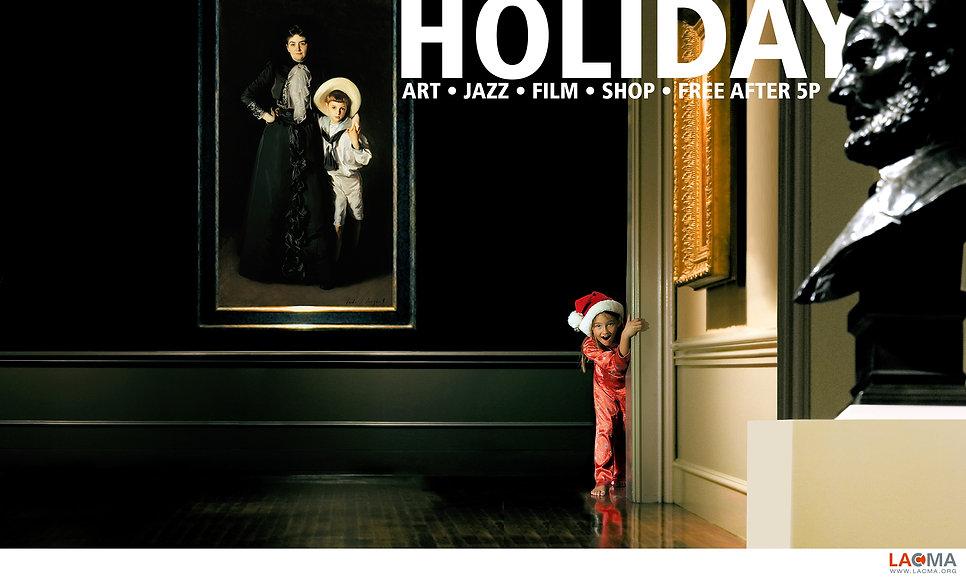 LACMA Holiday Print AD