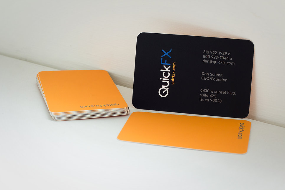 QuickFX Business Card