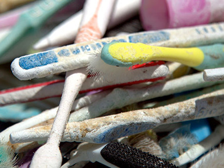 Plastic Toothbrushes are Worse than Plastic Bags