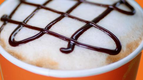 Dunkin Cappuccino