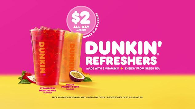 Dunkin Refreshers