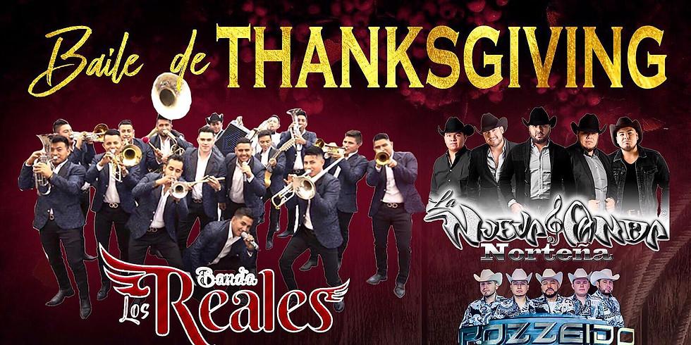 Baile De THANKSGIVING