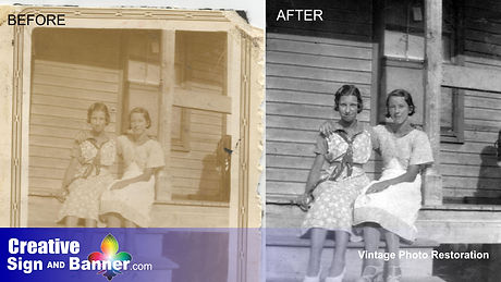 009 Photo Restoration by Creative Sign a