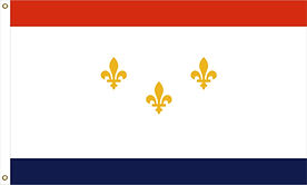 Orleans Flag by Creative Sign and Banner