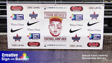 104 Celebrity Event Sponsor Banners by C