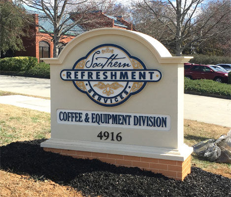 Souther-Refreshment-Services-Sign-Monume