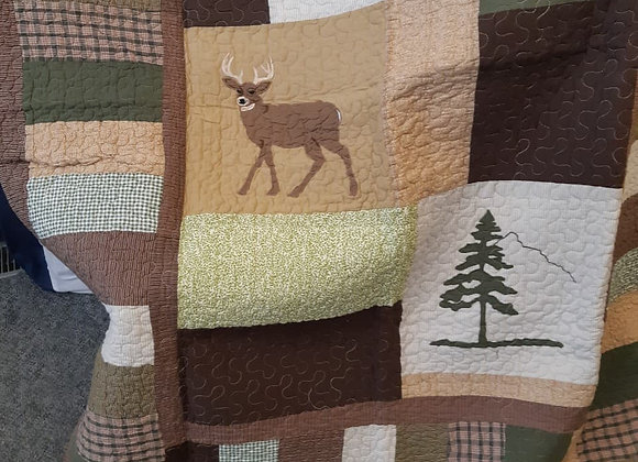 Quilted Baby Throws - Nature Theme