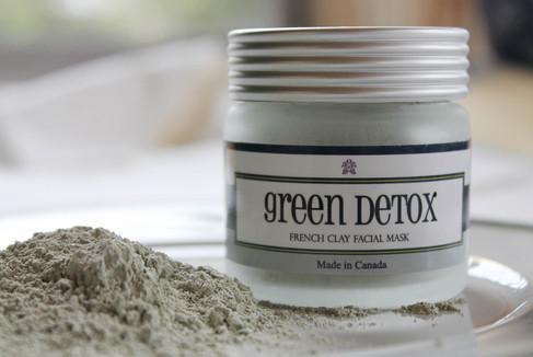 Georgina Naturals - Green Detox Clay Mask