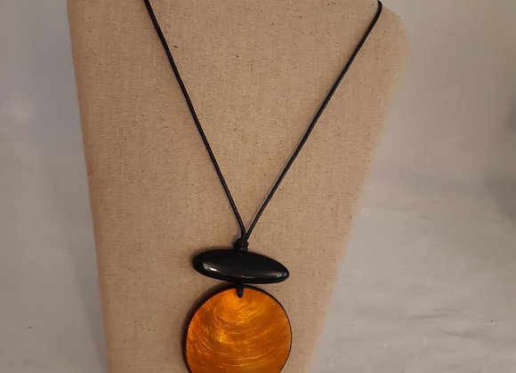 Necklace - Orange