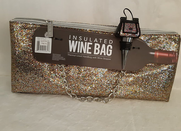 Insulated Wine Bag - Gold