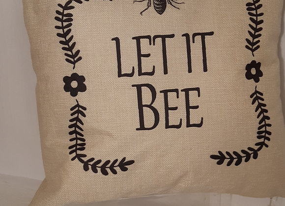 Positive themed Bee Cushions