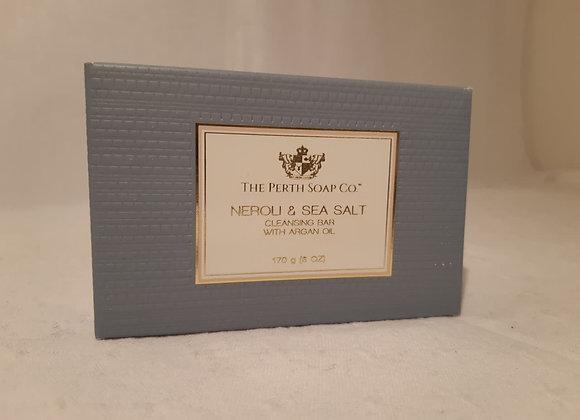 Luxurious Cleansing Bars with Argon Oil - Neroli & Sea Salt