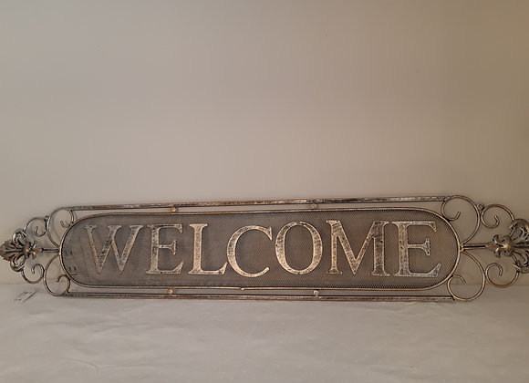Decorative Metal Welcome Sign