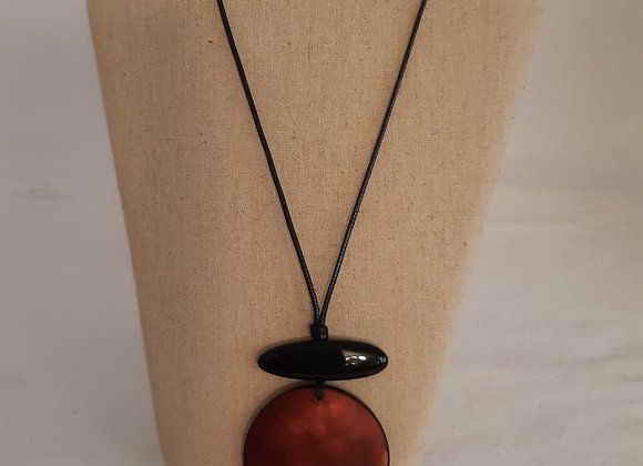 Necklace - Dark Orange
