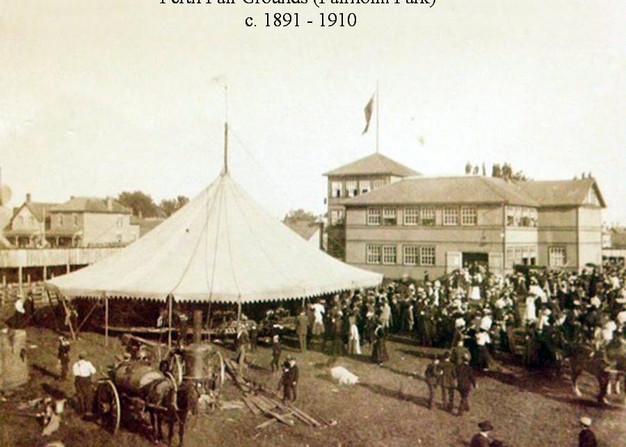Fairholm Park 1891-1910 Merry-Go-Round