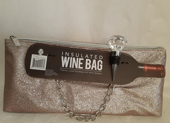 Insulated Wine Bag - Silver