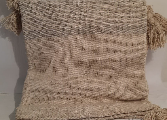 Cotton Throw - Beige