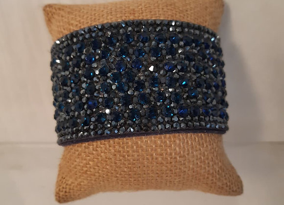 Magnetic Blue Sparkle Bracelet