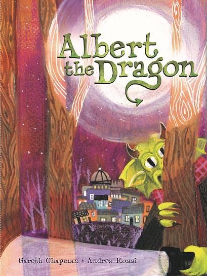 Albert the Dragon Gareth Chapman Books Dragon childrens book adventure